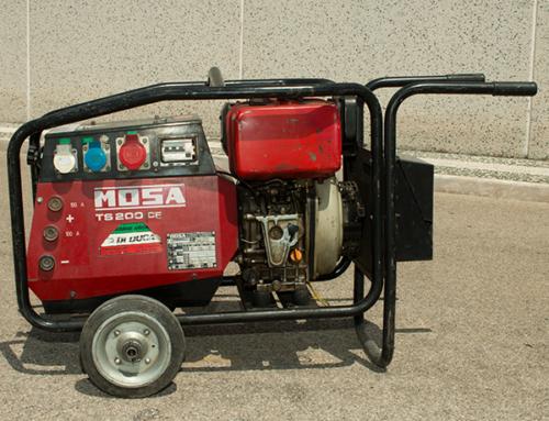 Motosaldatrice e Gruppo Elettrogeno MOSA TS200 CE