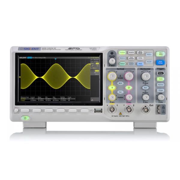 Siglent SDS1202X-E Oscilloscopio 200MHz 2 canali